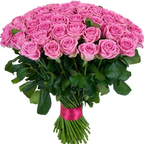 Купить на заказ Заказать Букет из 101 розовой розы с доставкой по Кокшетау с доставкой в Кокшетау